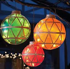 illuminated led ornaments holidays ornament