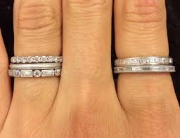 eternity ring finger 4 unique ways to wear anniversary bands