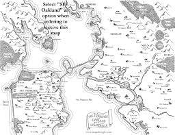 Map Of San Francisco Bay Area Fantasy Map Of San Francisco Oakland Bay Area