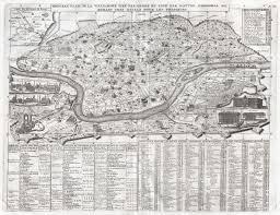 Map Rome Italy by File 1721 Chatelain Plan Or Map Of Rome Italy Geographicus