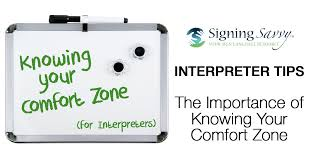 Comfortability Dictionary The Importance Of Interpreters Knowing Their Own Comfort Zone