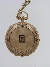 ladies necklace watch images Mint 18kt rose gold vacheron ladies keywind open face pocket watch jpg