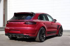 Porsche Macan Black Wheels - porsche mancan ursa by topcar gets cherry red paint and adv 1