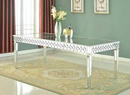 mirrored dining room table mirrored dining table wearelegaci com