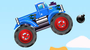 monster truck videos games monster truck video game play stunts u0026 actions for kids