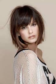 cut and style side bangs fine hair градуированное каре на короткие и средние волосы 30 стильных