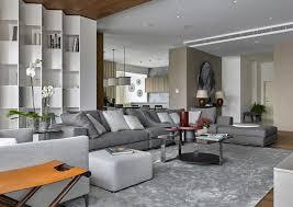 moscow penthouse interiors u0026 contract en