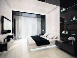 Bedroom Wall Shelves by Delightful Black And White Room Decor With Modern Tv Wall Also