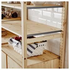ivar hacks ivar 2 sections shelves cabinet pine 174x50x179 cm shelves and