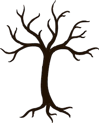 tree without branches clip at clker vector clip