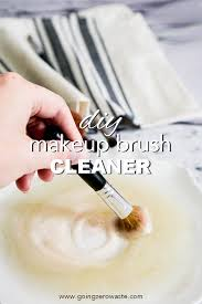 whisk cleaner going zero waste diy makeup brush cleaner
