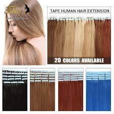cheap human hair extensions 20pcs 50g in hair extensions 20 colors febayhair
