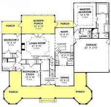 Cottage Floor Plans With Screened Porch 129 Best Floor Plans Images On Pinterest Floor Plans House
