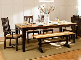hickory dining set rustic solid hickory farmhouse table by