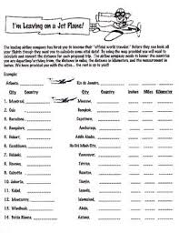 latitude and longitude worksheets for kids worksheets