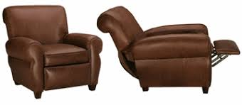 tight back leather club chair recliner clubfurniture com