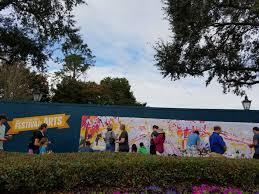 Paint By Number Mural by Show Your Artistic Side At Epcot International Festival Of The Arts