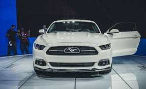 mustang 50th anniversary edition 2015 ford mustang 50th anniversary edition pictures photo