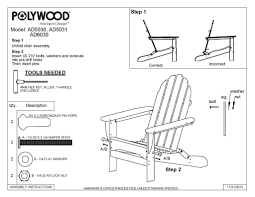 Polywood Classic Adirondack Chair Quick Ship Polywood Classic Folding Adirondack Chair Rivanna