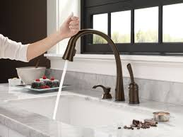 spiral kitchen faucet faucet com 980t ar dst in arctic stainless by delta