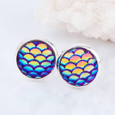 mermaid earrings handmade mermaid earrings bg s cool