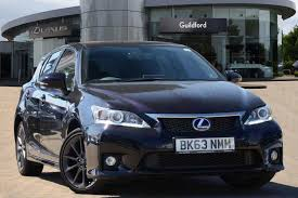 lexus ct200h f sport auto used 2013 lexus ct 200h 1 8 f sport 5dr cvt auto navigation for