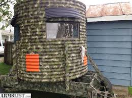 Hunting Blind Manufacturers Check This Permanent Blind Out Deer Hunting Pinterest Deer