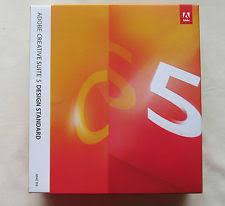 adobe creative suite 5 design standard cs5 upgrade software ebay