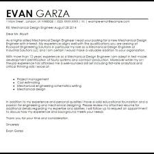 Mechanical Engineer Cover Letter Example Best Mechanical Engineer Cover Letter U2013 Letter Format Writing