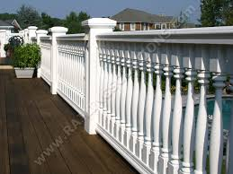 porch banister premium railing and baluster systems for deck porch and balcony