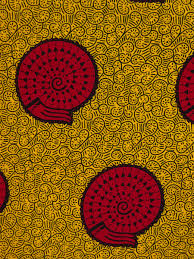 yellow african fabric snail african fabric by the yard african
