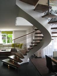 interior remarkable unique concrete house stair design modern