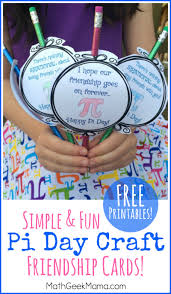 free printable pi day craft for kids