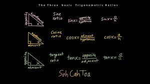 trigonometry finding missing sides of right triangles youtube