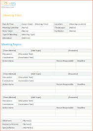 6 meeting minutes template bookletemplate org