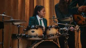 toyota camry commercial actress drummer caviar