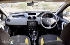 New Duster Interior Renault Duster Adventure Edition Review Cardekho Com