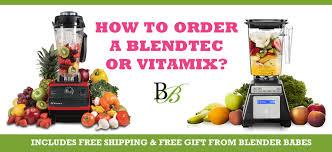 vitamix or blendtec free shipping free gifts blender