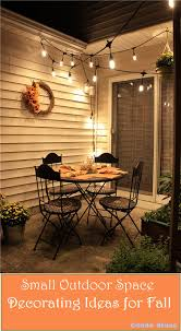 Fall Patio Condo Blues How To Decorate A Small Patio For Fall