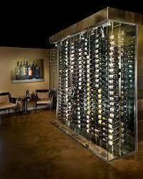 custom wine cellar racking