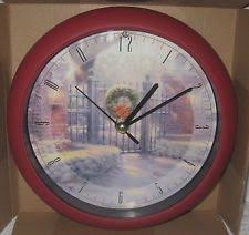 kinkade wall clocks ebay