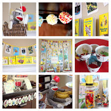 Curious George Centerpieces by Curious George Baby Shower