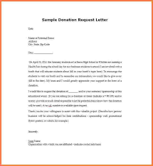 4 letter asking for donations from businesses sales intro letter