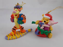 disney winnie the pooh tigger piglet tree ornaments lot
