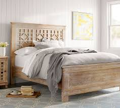 Bed Frames Farmhouse Bed Pottery by Luella Bed Pottery Barn