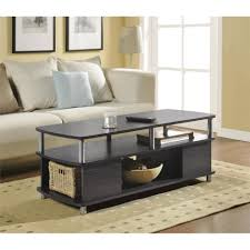 coffee table 77 off ashley furniture rectangular glass and black
