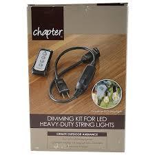 heavy duty string lights dimming kit for led heavy duty string lights walmart com