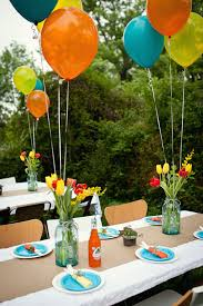 a baby celebration for kristin tommy balloon centerpieces