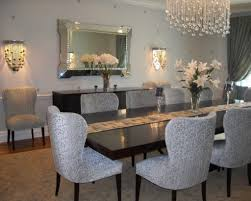mesmerizing dining room design presented with square mirror dining