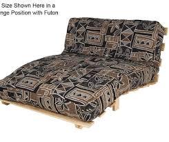 ultralight frame and mattress futon set twin or full
